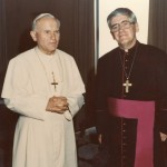 Inaugural ad limina visit with Pope John Paul II